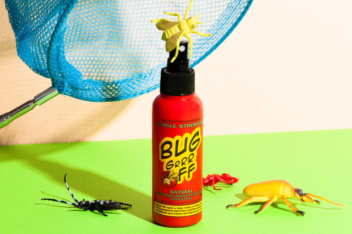 Bug grr off jungle strength insect repellent