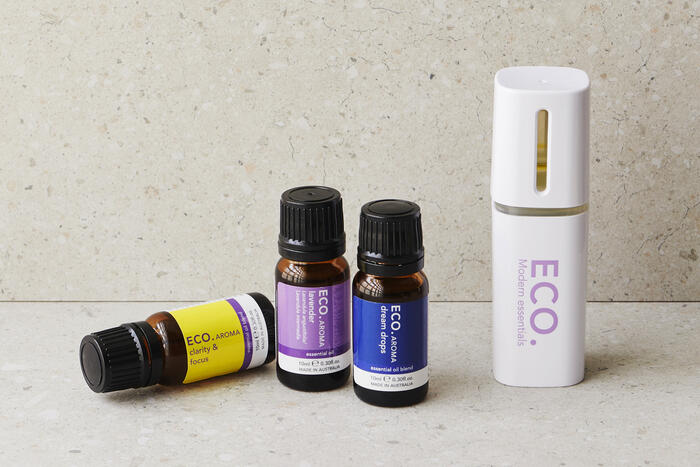 Essential oils with personal handheld diffuser