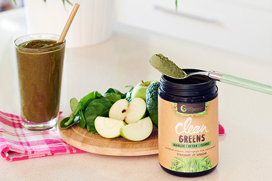 Nutra Organics, Clean Greens Powder