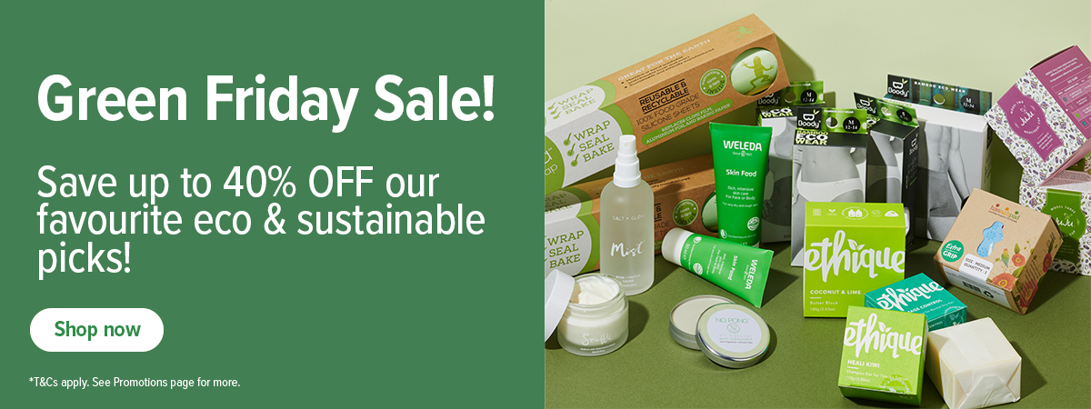 Green Friday Sale - UP to 40% off eco & sustainable favourites