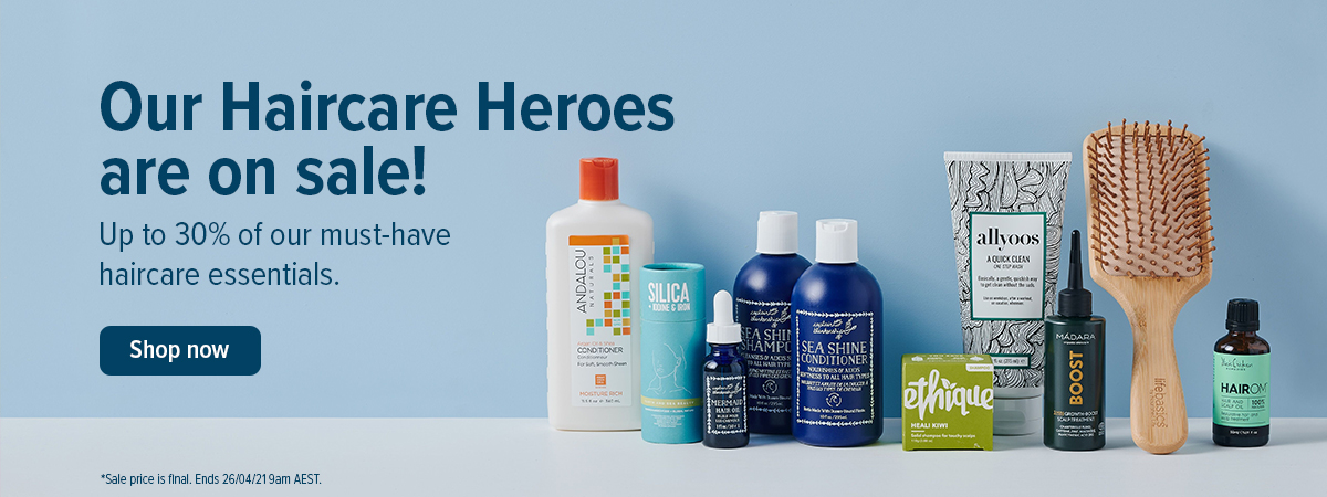 Save up to 30% off our Haircare Heroes & essentials!