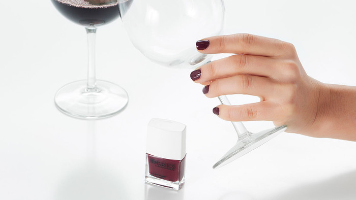 Life Basics Breathable Nail Polish - Marilyn Merlot