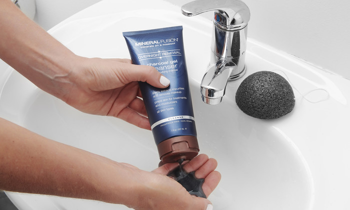 Mineral Fusion Charcoal Gel Cleanser