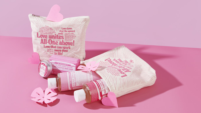 Dr Bronner's Pink Pack
