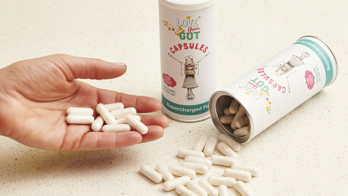 Supercharged Food Love Your Gut Powder Capsules
