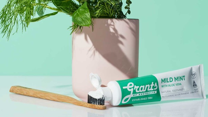 Grants Mild Mint with Aloe Vera Toothpaste