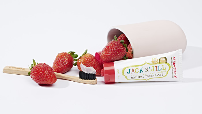 Jack n' Jill Toothpaste - Strawberry
