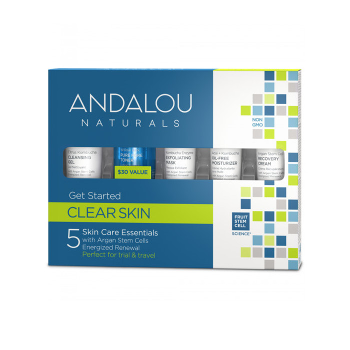 Andalou Naturals Get Started Kit - Clear Skin
