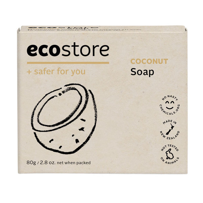 Ecostore Boxed Soap - Coconut