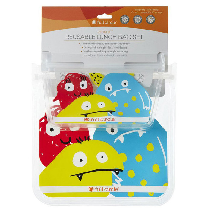 Full Circle Reusable Kids Lunch Snack Bags