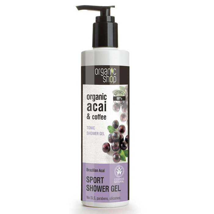 Organic Shop Shower Gel - Organic Acai & Coffee