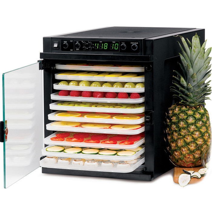 Sedona Express Food Dehydrator with 11 BPA-Free Plastic Trays