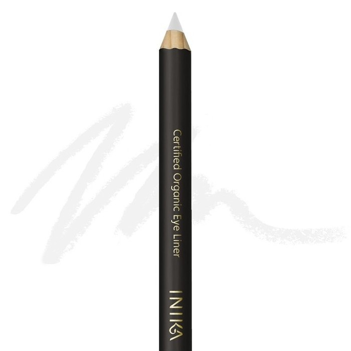 Inika Certified Organic Eyeliner Pencil - White Crystal