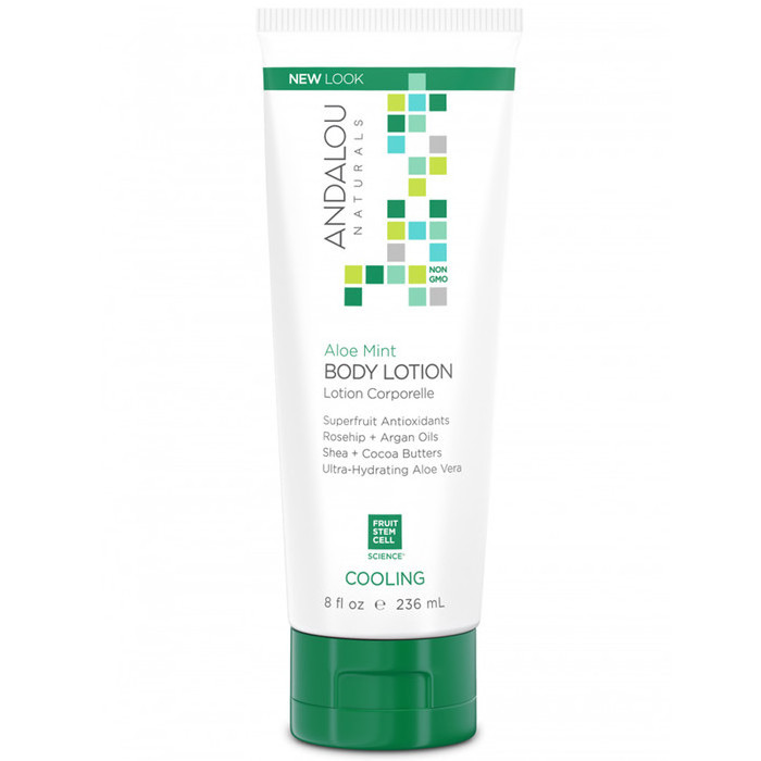 Andalou Naturals Aloe Mint Cooling Body Lotion