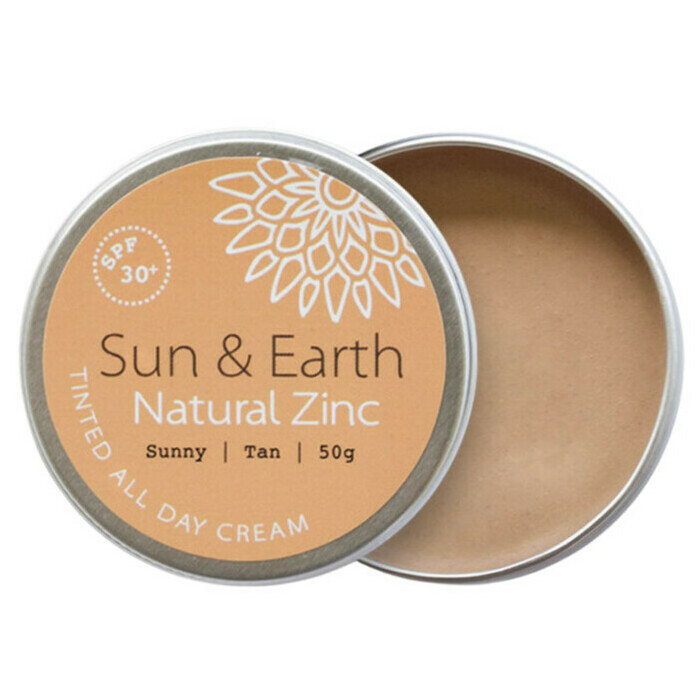 Sun Amp Earth Natural Zinc Tinted All Day Cream Spf 30