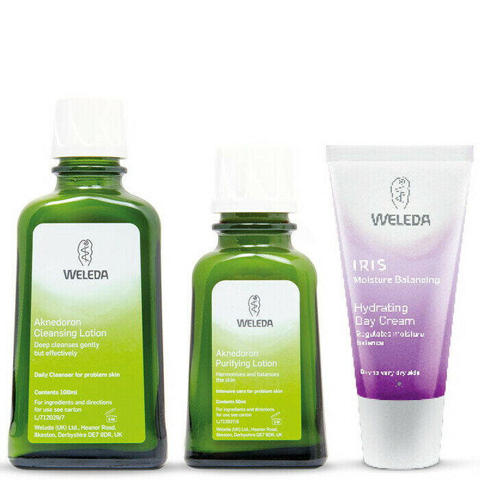 Weleda Aknedoron Acne Set for Young Skin