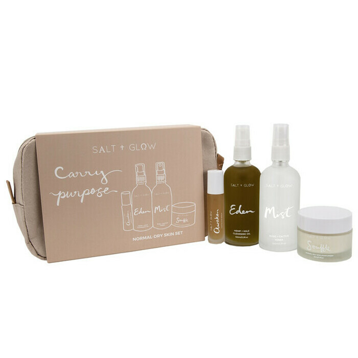 Salt + Glow Skincare Set