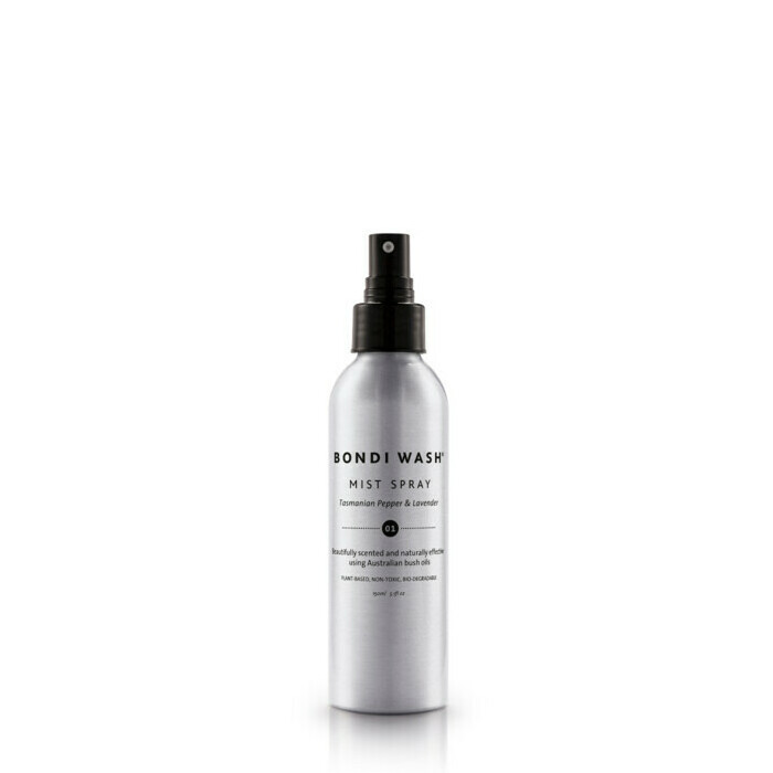 Bondi Wash Mist Spray for Rooms & Linens - Tasmanian Pepper and Lavender 01