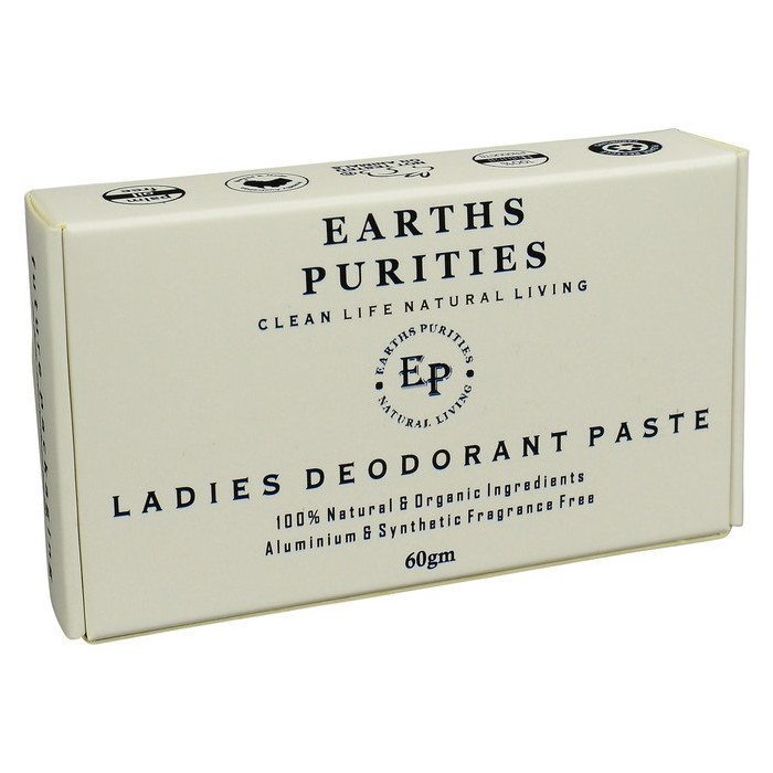 Earths Purities Ladies Natural Deodorant Paste