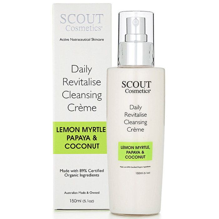 SCOUT Cosmetics Daily Revitalise Cleansing Crème