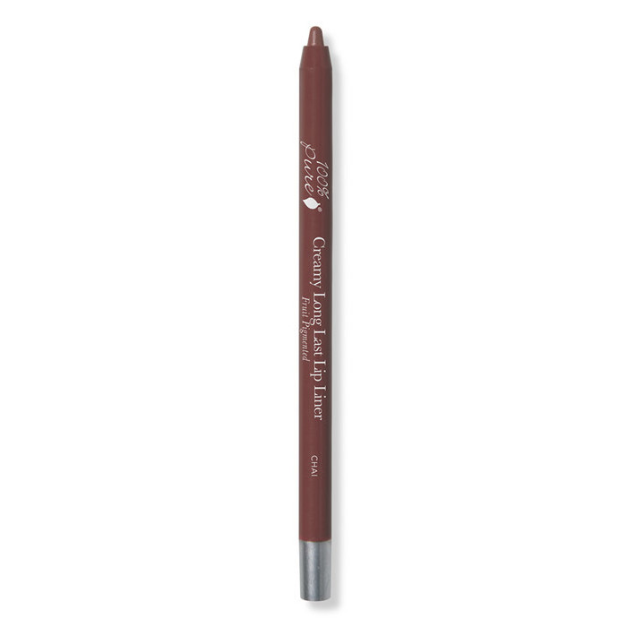 100% Pure Fruit Pigmented Creamy Long Last Lip Liner - Chai