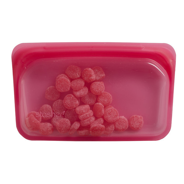 Stasher Snack - Raspberry