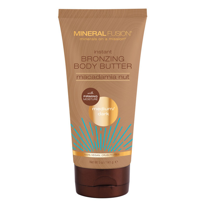 Mineral Fusion Instant Bronzing Body Butter - Medium / Dark
