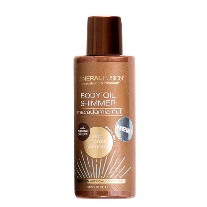 Mineral Fusion Body Oil Shimmer - Bronze