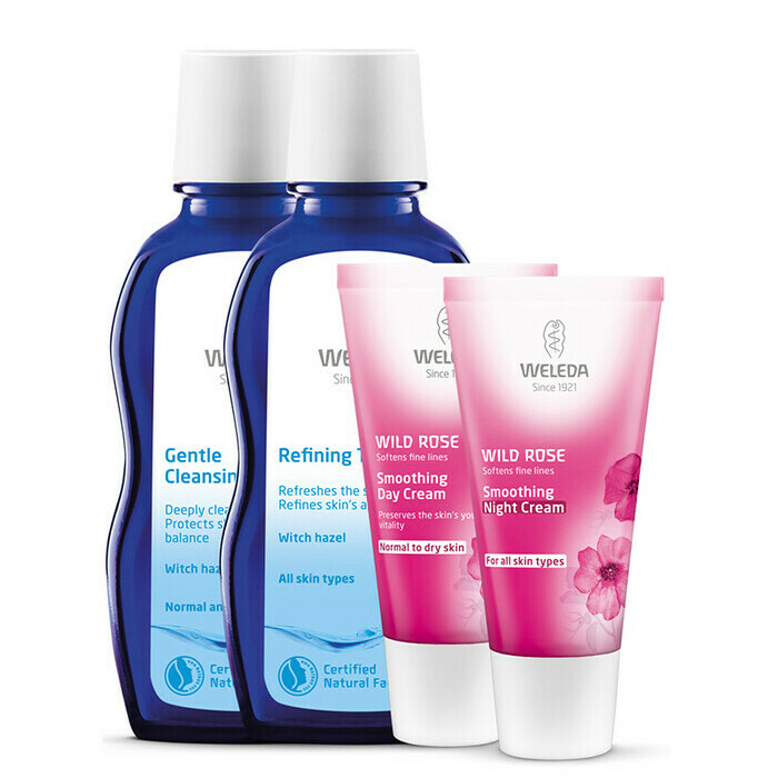 Weleda Wild Rose Smoothing Set for Normal & Dry Skin