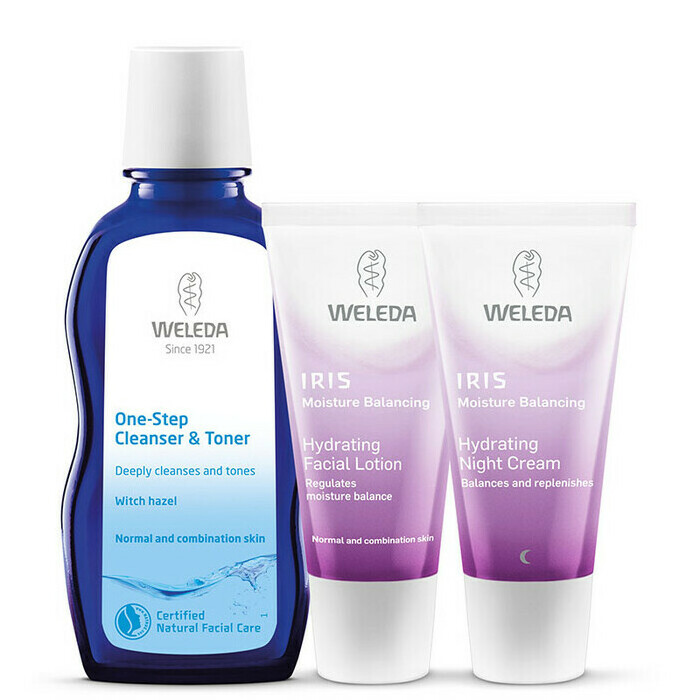 Weleda Iris Hydrating Set for Normal to Combination Skin