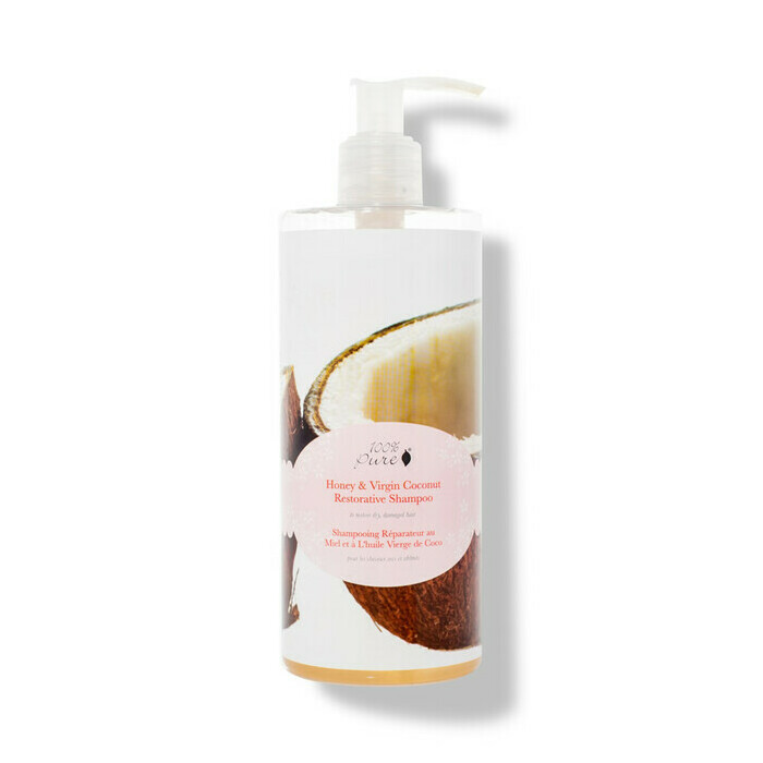 100% Pure Honey & Virgin Coconut Restorative Shampoo
