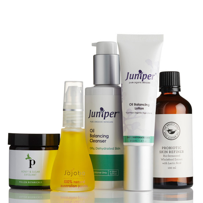 Nourished Life Skin Care Pack - Oily / Combination Skin Care Regime