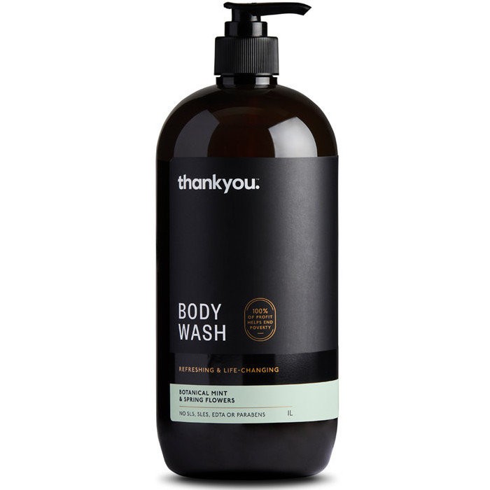 Thankyou Body Wash - Botanical Mint & Spring Flowers