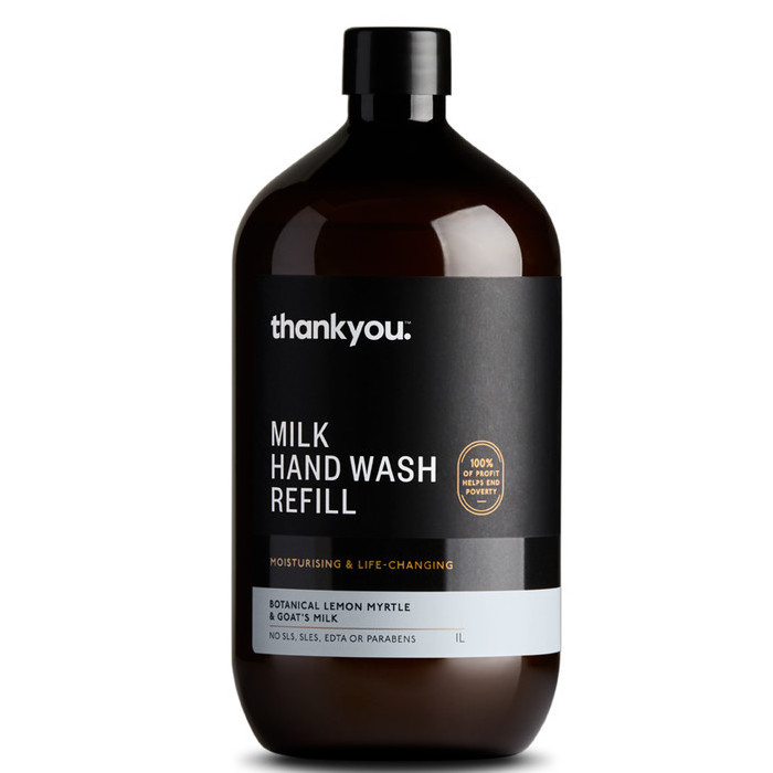 Thankyou Hand Wash - Botanical Lemon Myrtle & Goat's Milk REFILL