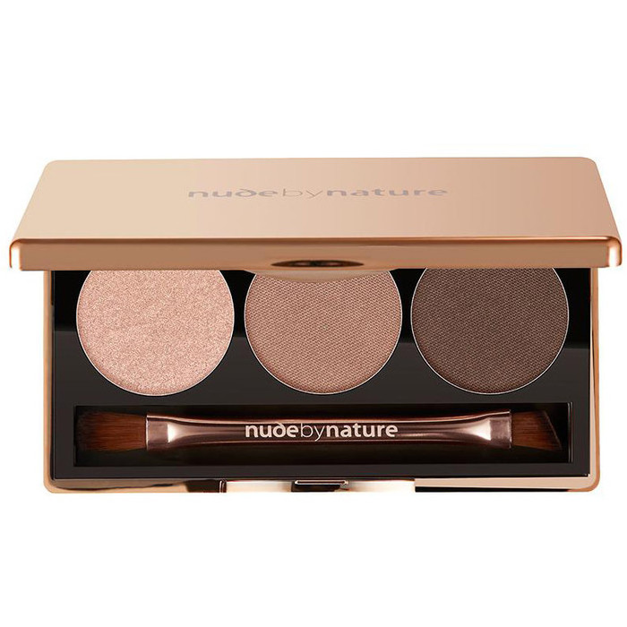 Nude By Nature Natural Illusion Eyeshadow Trio -  01 Nude