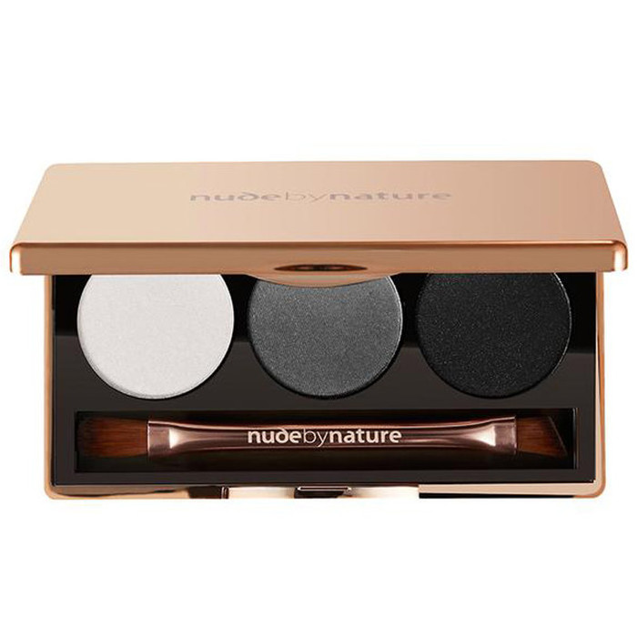 Nude By Nature Natural Illusion Eyeshadow Trio - 02 Smoky