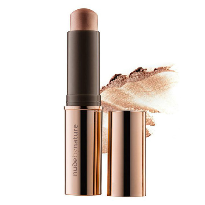 Nude By Nature Touch of Glow Highlight Stick - Bronze