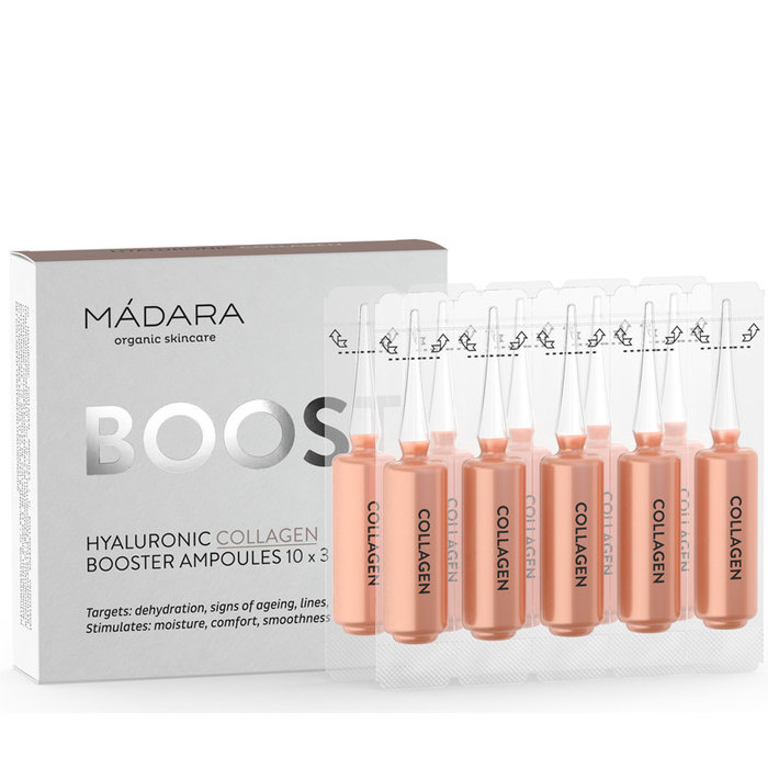 Madara Boost - Hyaluronic Collagen Booster Ampoules
