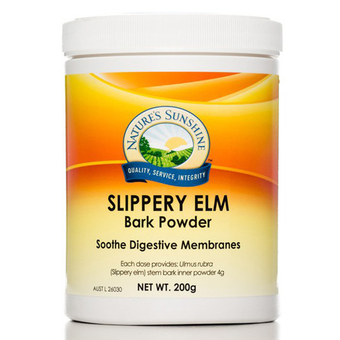 Nature's Sunshine Slippery Elm Bark Powder