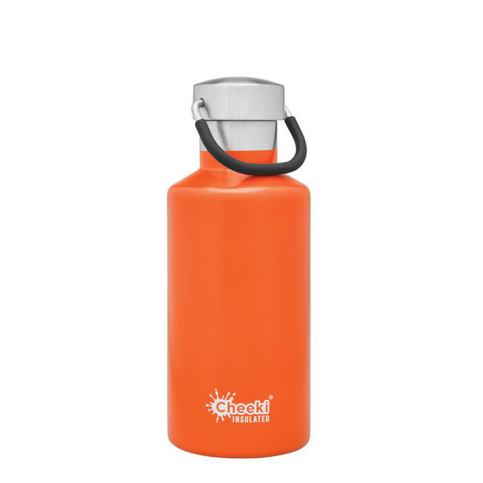 Cheeki Classic Insulated Water Bottle Orange 400ml