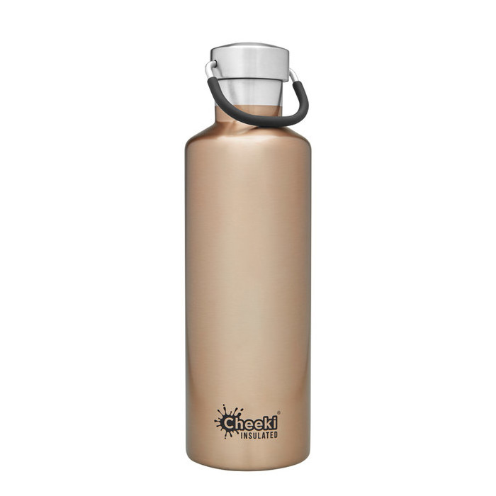 Cheeki Classic Insulated Bottle 600ml - Champagne