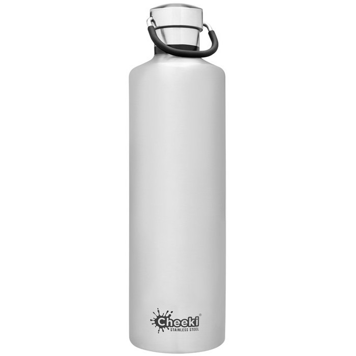 Cheeki Classic Insulated Bottle - Silver