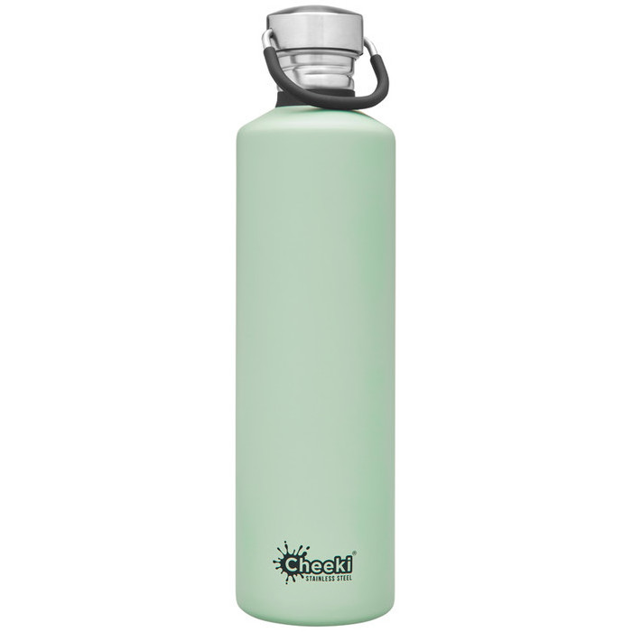 Cheeki Classic Single Wall Bottle - Pistachio