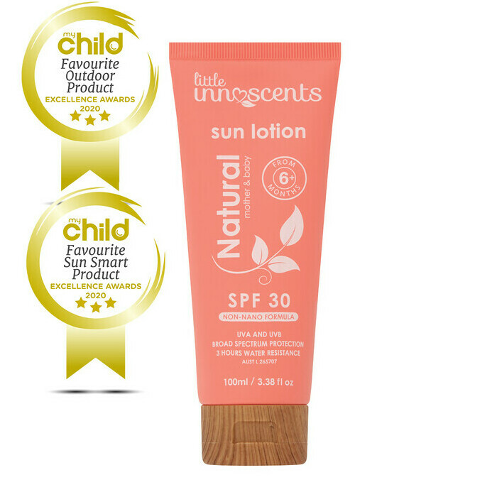Little Innoscents Natural Sun Lotion Spf30 Nourished