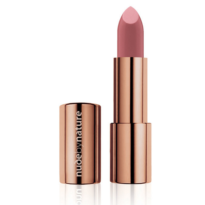 Nude By Nature Moisture Shine Lipstick - 03 Dusty Rose