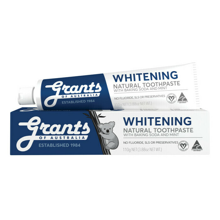 Grants Whitening Toothpaste Nourished Life Australia