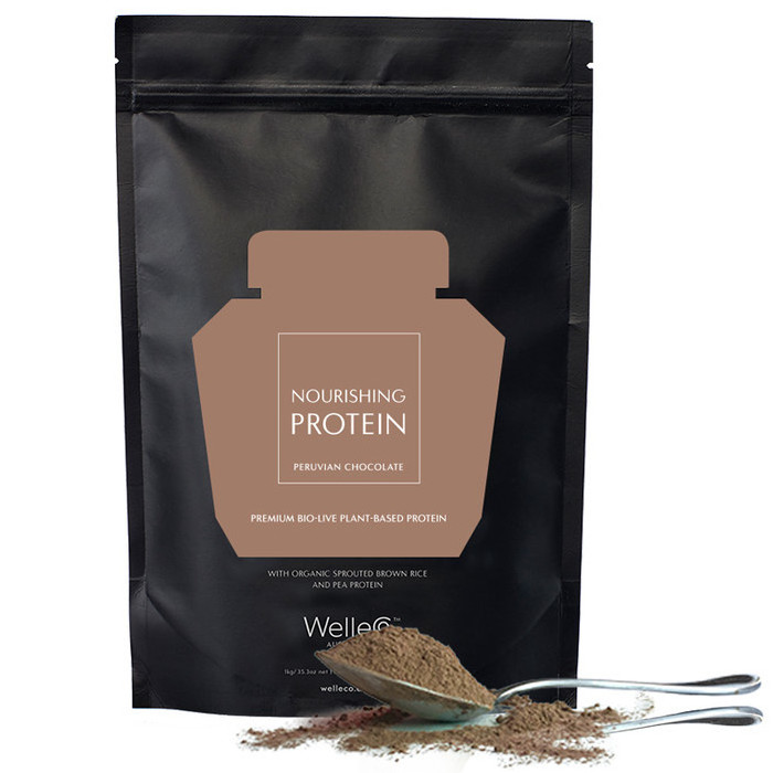 WelleCo The Super Elixir Nourishing Protein - Chocolate REFILL