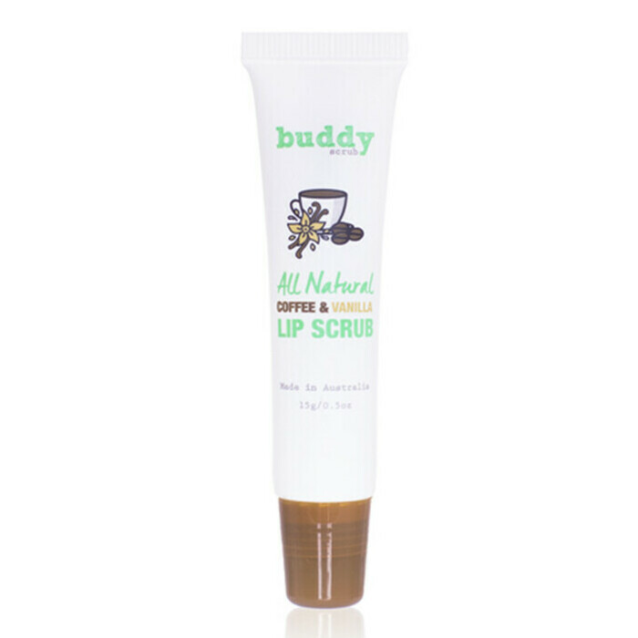 Buddy Scrub Lip Scrub - Coffee & Vanilla