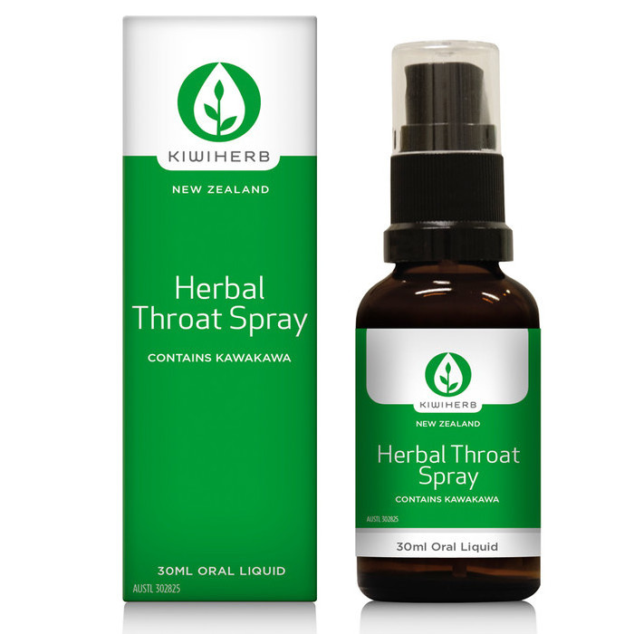 Kiwiherb Herbal Throat Spray