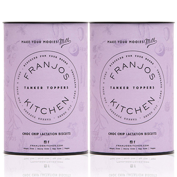 Franjo's Kitchen Tanker Topper Biscuits - Choc Chip (2 Pack)